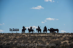 Fort Stockton, horses, indians, metal art, welcoming sign, west texas,