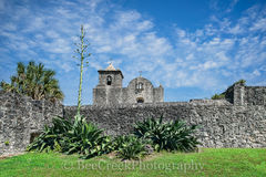 Golidad, Presidio La Bahi, catholic church, fort, historic, mission, missions, spanish, landscape, texas landscapes, Goliad Presidio,
