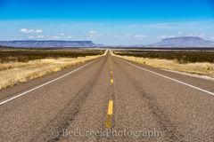 Alpine, Road, distance, long road, texas