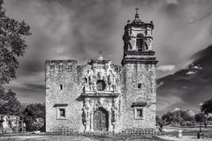 Mission San Jose, National Historic Landmarks, San Antonio, black and white, color, destinations, downtown, historic, indians, landmark, mexicans, spanish missions, texas missions, texians, tourist, t