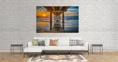 Sunrise, pier, port A, coastal, , gulf cost images, Texas beaches