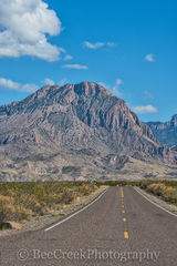 Big Bend National Park, Chiso mountains, Road