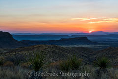 Big Bend National Park, Chihuahuan Desert, Dead Horse mountains, Mountains, Sierra Ponce, Sotol Vista Overlook, colorful, landscape, sky, sotol, sunset, yuccas, scenic,