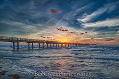Pier, Texas pier,  Port Aransas, Sunrise, Texas Coast, Texas beach, Texas coastal, beach, beach scene, coast, coastal, coastal landscapes, colorful, fishing pier, gulf of mexico, landscape, landscapes