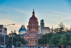 Texas Capitol Dusk