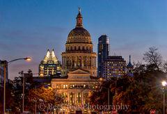Texas Capitol at Twilight