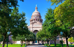 Capitol, Capital, Texas, building, Austin, south view, Congress ave., Capitol of Texas, Dome, red granite, renaissance rivival, architecture, state capital, state capitol, images of texas