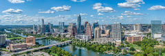 texas, austin skyline, austin, austin downtown, downtown austin, austin texas, austin tx,skyscraper, high rise, buildings, aerial, usa, city of austin,  pano, panorama, city of austin, lady bird lake,