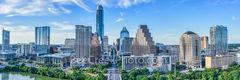 Austin Skyline Panorama, Austin skyline, Austin cityscape,  pano, aerial, Austin skylines,  Condos, Ashton, over austin, Ashton Condos, Austin, Austonian, Congress ave, Four Season Hotel, Frost, Marri