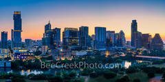 austin skyline, texas, sunrise, texas capitol, downtown austin, austin, lady bird lake, city of austin, austin texas, austin tx, austin pics, pano, panorama, austin downtown, architecture, sunset,