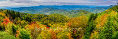 Blueridge Parkway, Fall, autumn, fall, smoky mountains, hillsides, yellow, reds, oranges, forest, pano, panorama, mountains, north carolina, nc, pano, panorama,