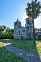 Mission Concepcion, vertical, San Antonio,