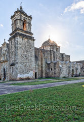 Mission San Jose, San Antonio Missions National Historical Park, church, vertical, Coahuiltecan tribe, indians, San Antonio, spanish missions, landmark, historic, color, downtown, texians, mexicans, t