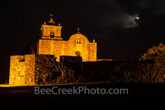 Presidio La Bahía Presidio Goliad, landmark, Goliad Texas, Fort goliad, night, dark, mission, landscape, photograph, historic, catholic church, mission, missions, spanish, fort, Fannin, Texas revoluti