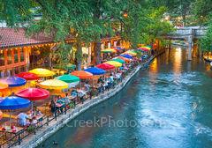 San Antonio River Walk, Casa Rio, River Boat, River Walk, Riverwalk, San Antonio, boat rides, city, cityscape, cityscapes, colorful umbrellas, destinations, downtown, drinks, food, hotels, landmark, o