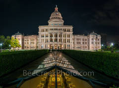 Texas Capitol Skylight View Pano