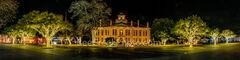Texas Hill Country Christmas Pano Johnson City