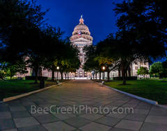 Austin, Texas Capitol, pano, panorama, night, cityscape, downtown, city, tourist, landmark, historic, history, State Capitol building, Texas State Capitol, state Capitol, Capitol of Texas, tourism,