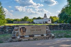 San Antonio, Mission San Juan, entrance, park, National Park Service, San Antonio Missions National Historical Park, National Park Service,