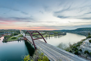 360 Bridge sunset, 360 bridge, Austin, Austin 360 Bridge, Austin skyline pictures, Central Texas, Hill Country, Lake Austin, Penny Backer Bridge photos, Penny Backer Bridge pictures, Pennybacker bridg