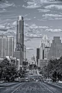 Austin, Congress ave, Zilker park, austin downdown, austin texas, cityscape, congress, state captiol, austin skylines, austin cityscapes