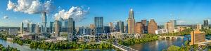 Austin, Aerial, Skyline, Austin aerial skyline, cityscape, pictures of Austin, photos of Austin skyline, downtown, jingle, austonian, google, lady bird lake, town lake, vic mattis park, auditorium sho