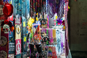 Boubon Street Beads Display