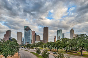 American bank, Chase Tower, Heritage Plaza, Houston, Houston Texas skyline, Smith St., Wells Fargo, architecture, bayou, buildings, city park, city scene, cityscape, cityscapes, downtown, fall, high r