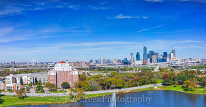 Dallas Pano From Above