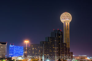 Dallas, Hyatt, Omni, architecture, cityscape, cityscapes, landscape photography, night city, reunion tower, skyline, texas, urban landscape, urban photos