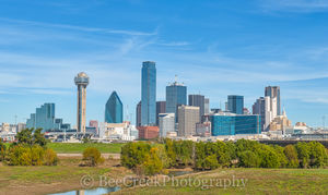 Dallas, Fountain Place, Heritage, Hyatt Regency, Reuion Tower, bank of america, cities, cityscape, cityscapes, ciy, downtwon, skyline, skylines, the Omin Hotel, urban