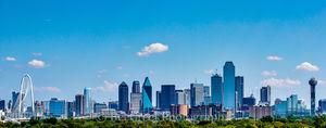Dallas Cityscape Pano