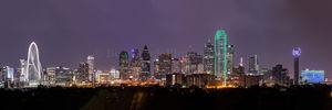 Dallas, architecture, cities, city, city scene, cityscape, cityscapes, downtown, landscape, night pano, panorama, panoramas, photo, photos of Dallas, skyline, skyline photography, urban scene
