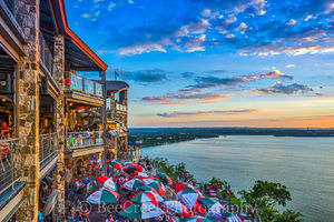 Dusk at the Oasis , Hill Country,  Lake Travis, Oaisis, TX, Austin, boating, drink umbrellas, fishing, food, lake, recreation, restaurant, sailing, skiing, sunset, swimming, texas, views, water, lands