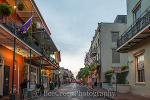 French Quarter, New Orleans, city, morning, people, street scene, New Orleans cityscapes,