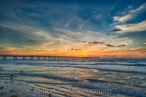 Port A, Port Aransas, Sunrise, Texas Coast, Texas beach, beach, coast, coastal, fishing pier, gulf of mexico, landscape, nature, ocean, sand, sea weed, seascape, surf, texas beaches, wave