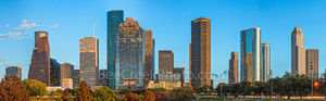 Houston skyline, skyline, architecture, city scene, urban scene, night skyline, cityscape, cityscapes, houston texas, city, high rises, downtown, theater district, bayou, night,