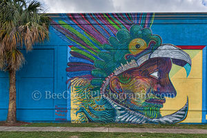 Houston, graffitt, art, street art, downtown, city, street scenes, ,urban, mural,