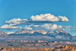 Fine Art photo of La Sal Mountains, La Sal Mountains Utal, images from Archer National Park, images of La Sal Mountain, la sal mountain, photo of La Sal Mountains, pictures of La Sal Mountain