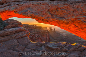 Canyonland, Mesa Arch, Mountains, National Park, Sunrise, UT, Utal, canyons, desert southwest, geologic, geology, glow, landscape, landscapes, red, rocks, rocky, scenic, view, window