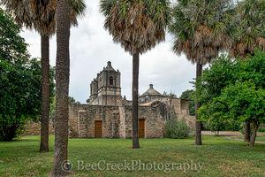 Battle of Concepcion, Mission ConcepciÛn, National Historic Landmarks, San Antonio, downtown, historic, indians, landmark, mexicans, spanish missions, texas missions, texians, world heritage site