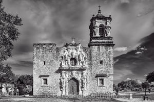 Mission San Jose, National Historic Landmarks, San Antonio, black and white, color, destinations, downtown, historic, indians, landmark, mexicans, spanish missions, texas missions, texians, tourist, t