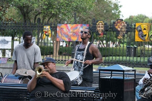 New Orleans Street Muscicians