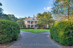 Lousiana, Oak Alley, grounds, mansion, plantation, tourist