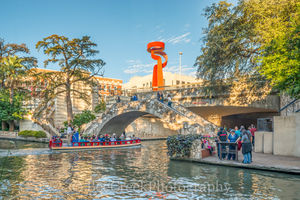 San Antonio, Torch of Friendship, boat, cities, city, cityscape, downtown, image, scenic, skyline, tourist, River Walk San Antonio,