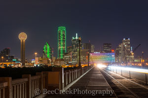 Dallas, road to dallas, downtown, city, road, skyline, cityscape, Reuion Tower, Omni, Bank of America,