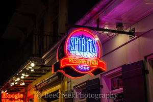 Spirits on Bourbon Neon