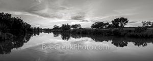 texas hill country, black and white, b w , new upload, hill country, sunset, pedernales river, texas landscape, panorama, pano, water, river, trees, rurals, colorado river, central texas,  texas. rura