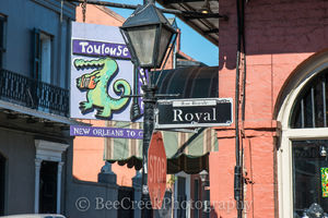 Toulouse and Royal Street