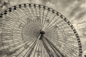 Dallas, Ferris wheel, Texas Star, Texas State Fair, amusement park, fair, vintage